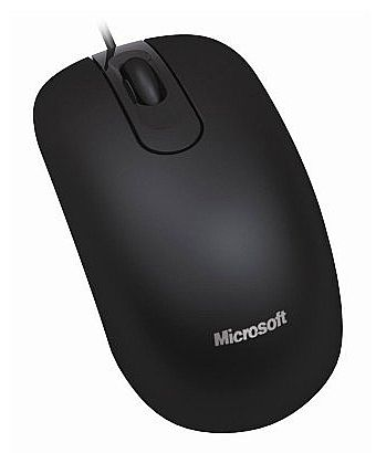 Mouse Microsoft Optical 200 Black - USB - 35H-00006 - OEM