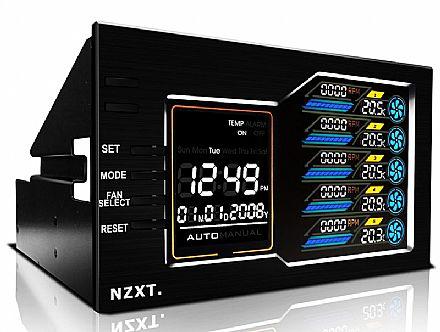 Painel Multicontrolador de Fan NZXT Sentry LX - LCD Colorido - ACC-NT-SENTRY-LX
