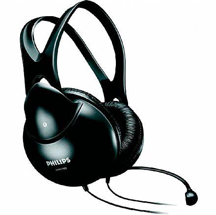 Fone de Ouvido Philips SHM1900/00 - Headset com microfone
