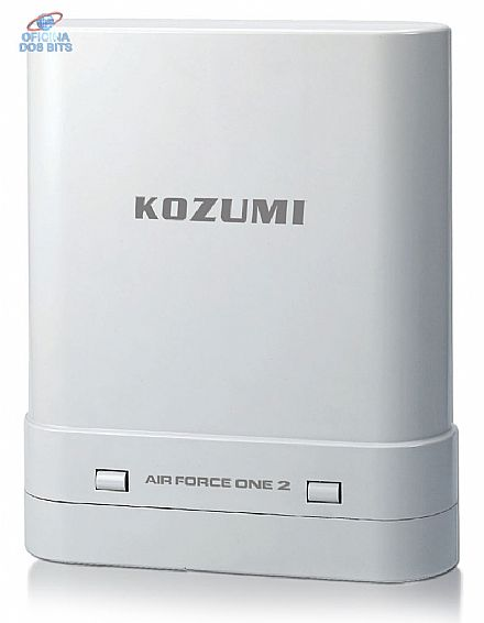 CPE Kozumi Air Force One 2 V2 - Wi-Fi Externo - 400mW - 2.4GHz - PoE - Antena 14dBi